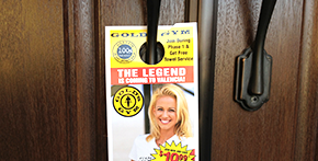 door hangers in huntington beach