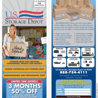 US Storage Depot Direct Mail Flyer