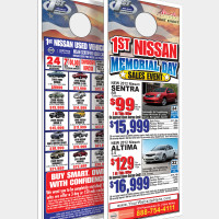 Nissan Doorhanger