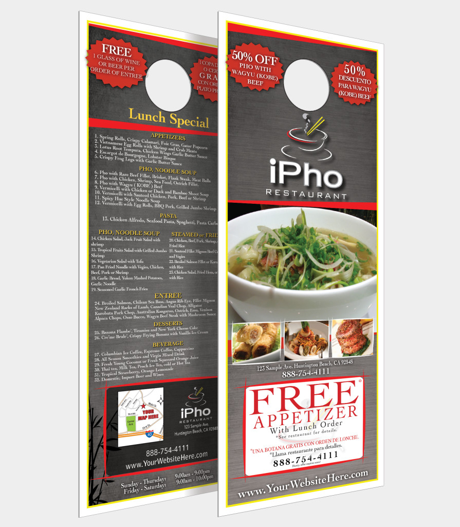 Call Front Door Advertising to start your c&aign today!  sc 1 st  Front Door Advertising & Door Hangers